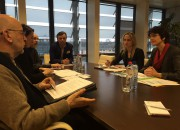 EFJ delegation meets Commissioner Thyssen