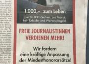 inserat freie Journalisten