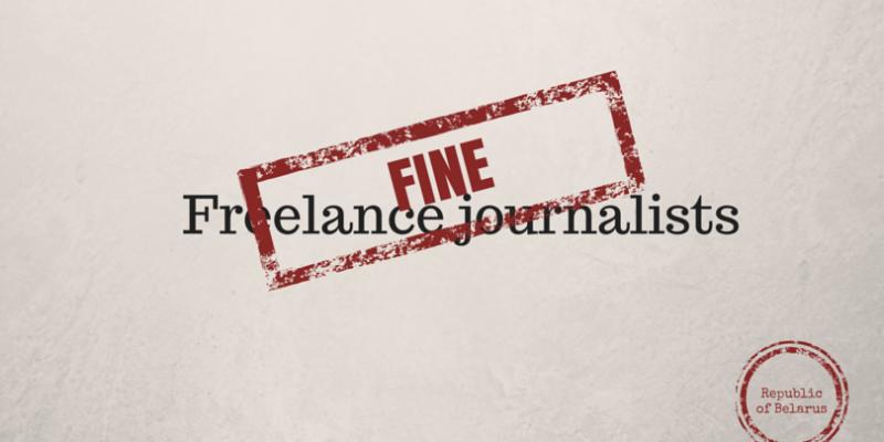 Freelance journalists