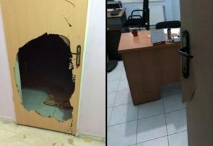 Police broke doors of Kurdish daily newspaper