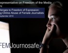 Online female journalists harassment OSCE