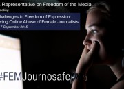 Online female journalists harassment OSCE