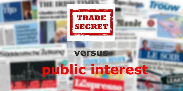 trade-secrets Versus
