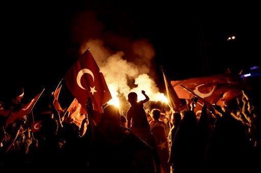 Turkey coup AFP ARIS MESSINIS