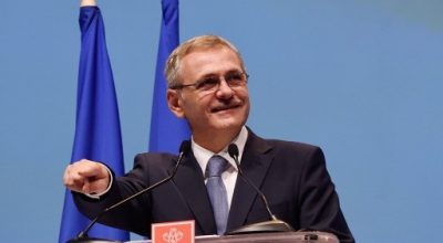 Liviu Dragnea, elected president of Social Democratic Party (PSD) ruling party, gestures during congress of PSD to elect a new president after the Romanian Prime Minister resigned as party leader amidst a corruption probe in Bucharest October 18, 2015. AFP PHOTO / DANIEL MIHAILESCU / AFP PHOTO / DANIEL MIHAILESCU