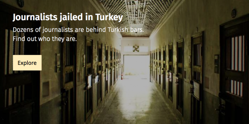 Journalists Jailed in Turkey