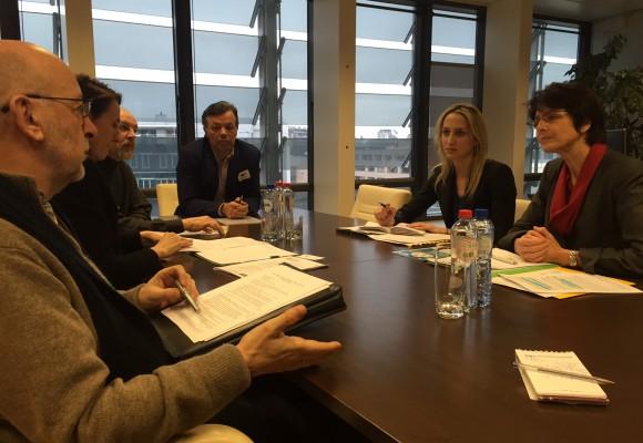 EFJ delegation meets Commissioner Thyssen