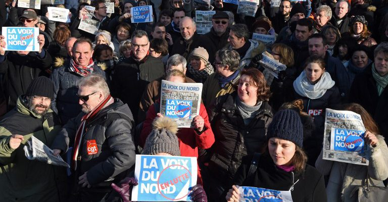 La Voix 2017 >> Solidarity With Employees Of French Newspaper La Voix Du